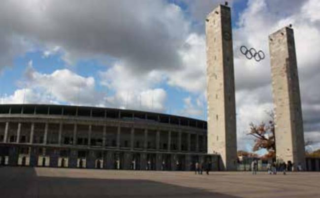 Вернер Марх. Олимпийский стадион в Берлине, 1934-1936
