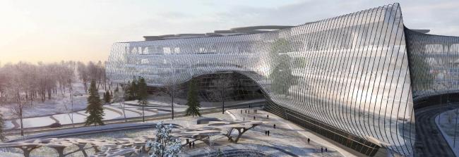 Технопарк Сбербанка в Сколково © Zaha Hadid Architects