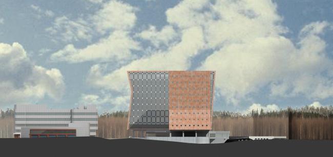 Административно-деловой центр на Рублево-Успенском шоссе, 2008 © Сергей Киселев и Партнеры