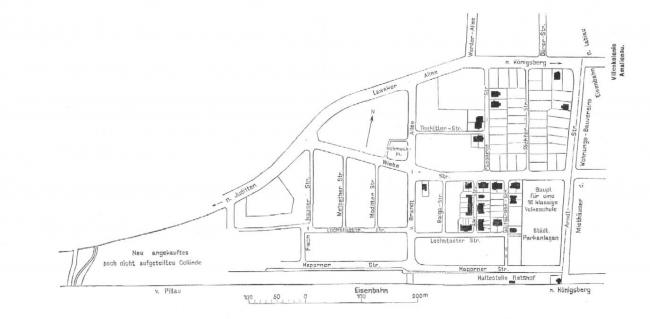 Генеральный план Ратсгофа. Изображение предоставлено издательством «БуксМарт»