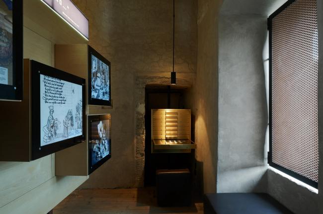 Реконструкция замка Тироль в Мерино. Фото предоставлено студией Вальтера Ангонезе