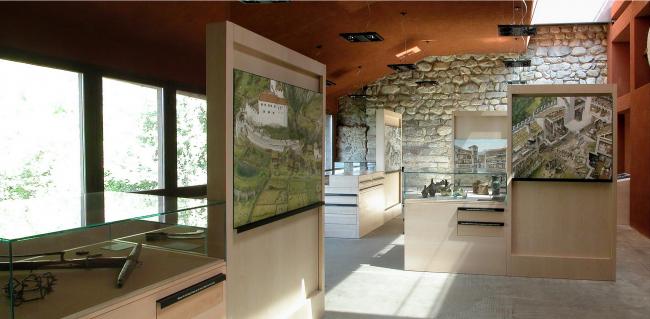 Реконструкция замка Тироль в Мерино. Фото: Stefan Brüning