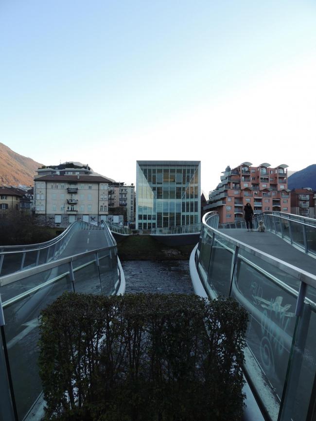 Музей современного и новейшего искусства Museion в Больцано Архитекторы KSV Krüger Schuberth Vandreike. 2005–2007. Фото © Елизавета Клепанова