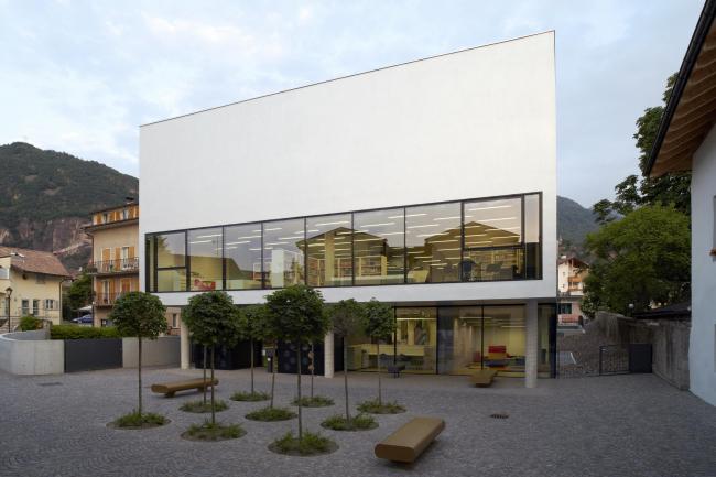 Культурный центр в Оре. Архитекторы Studio Monsorno Trauner. 2012. Фото: Augustin Ochsenreiter, Rene Riller