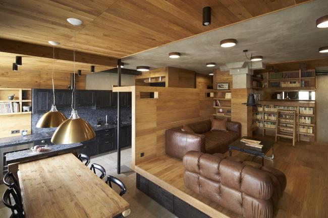 Z-квартира. Архитектор Алексей Розенберг. Фотография © Константин Дубовец