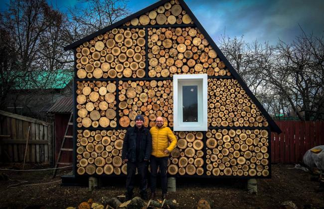 Дом-дровница. Архитектор Рустам Керимов.
