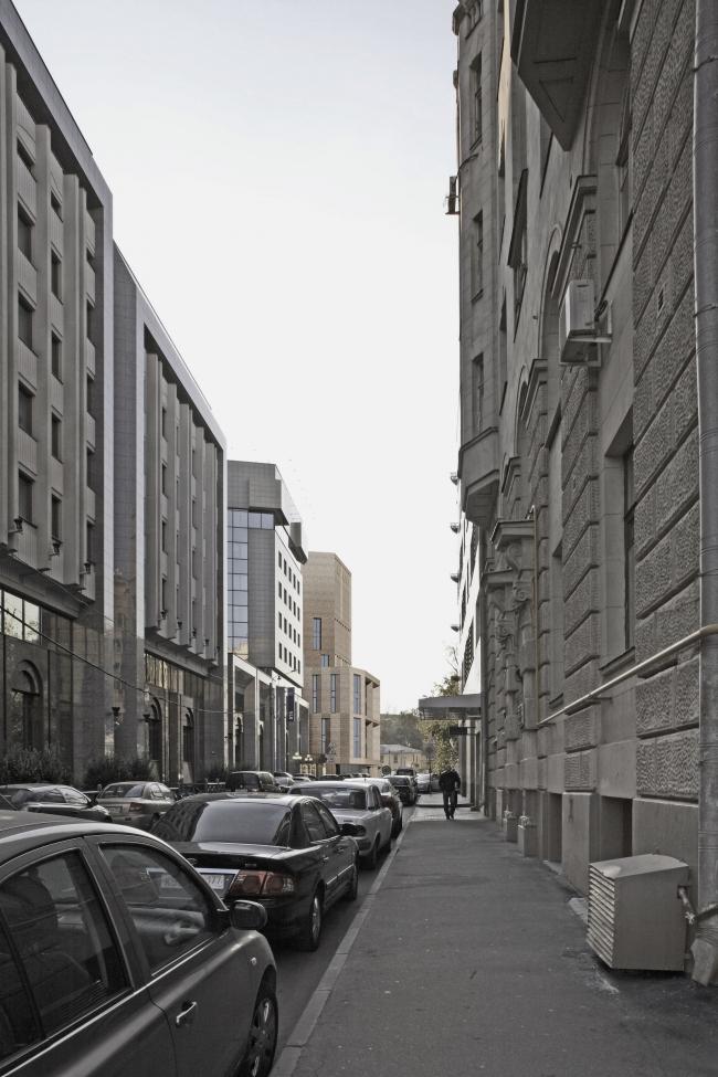 Жилой дом с подземной автостоянкой на ул. Бурденко © Сергей Скуратов ARCHITECTS