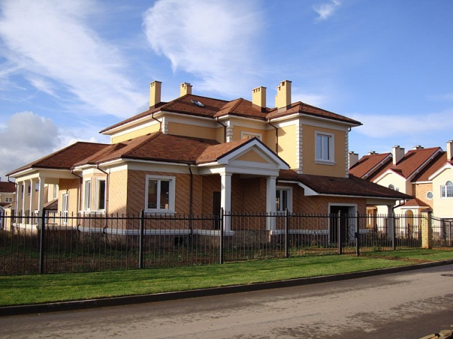 Частный коттедж в посёлке Гринвич. Источник: http://www.grnw.ru/