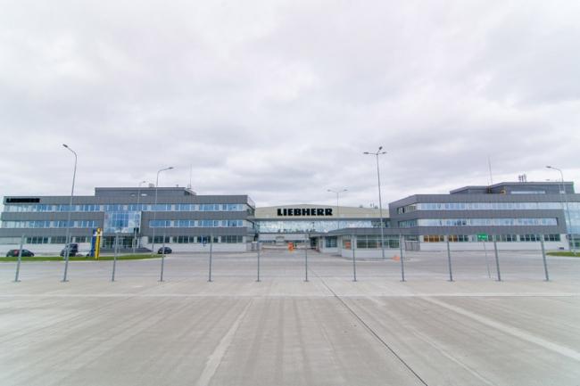Завод Liebherr. Фотография с сайта trimo-vsk.ru