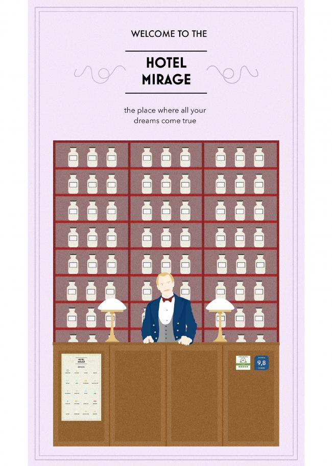 Hotel Mirage / Anna Barbieri, Anna Hagen © Non Architecture Competitions