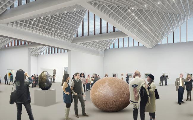 Латвийский музей современного искусства © MRC/Adjaye Associates (UK) and AB3D