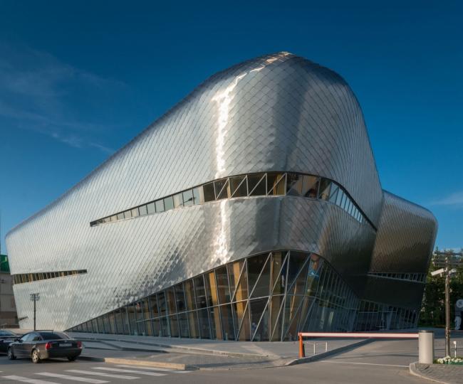 Академия шахмат, Ханты-Мансийск. Архитектор: Эрик ван Эгераат