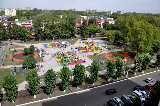 Парк имени Тукая, Нижнекамск, Татарстан