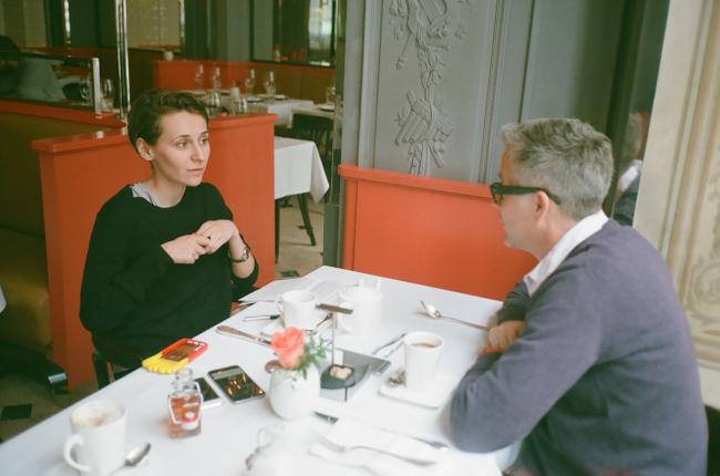 Юлия Андрейченко и Кристофер Пирс. Фотография © Александра Чечёткина