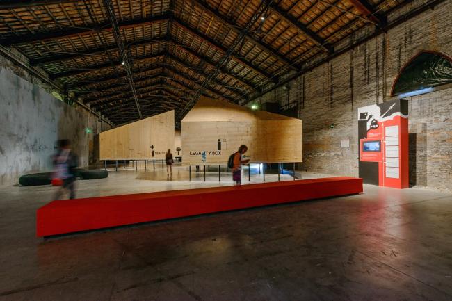 Экспозиция павильона Италии © Andrea Avezzù