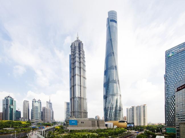 Башня Shanghai Tower © Connie Zhou