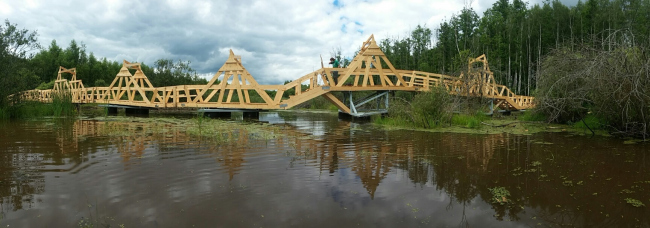 Мост. Wowhaus. Архстояние 2016. Фотография © Есберген Сабитов