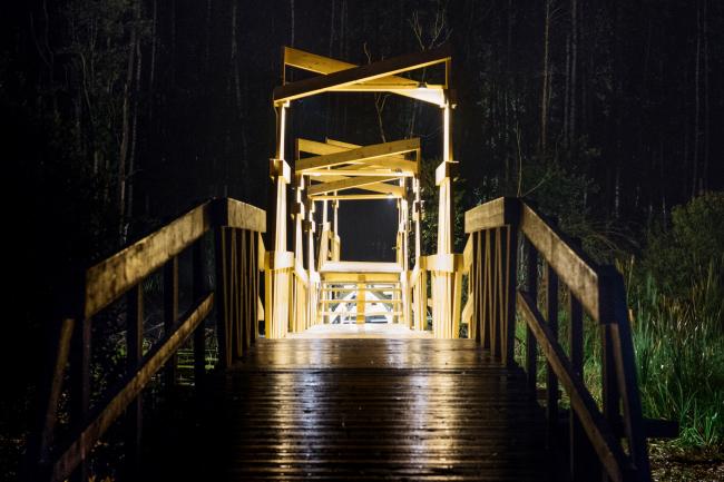 Мост. Wowhaus. Архстояние 2016. Фотография © Ольга Гриб