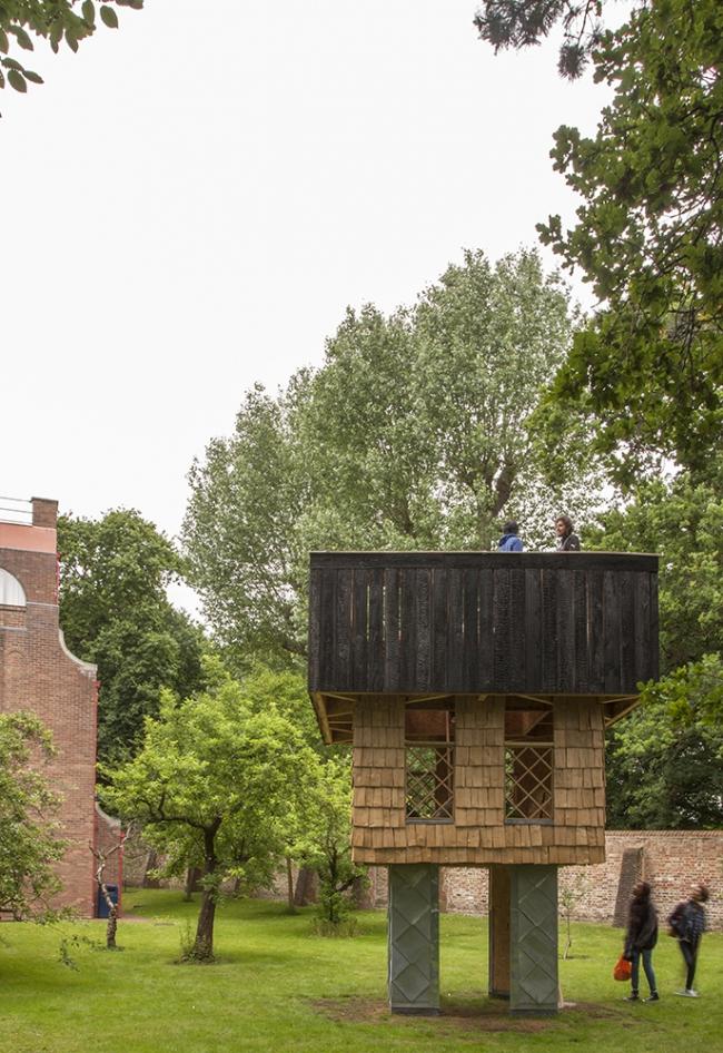 Павильон на территории музея Дорич-хаус © Terunobu Fujimori