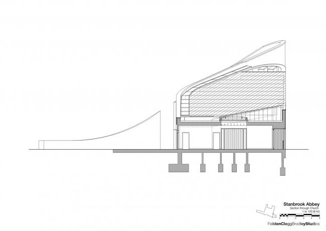 Аббатство Стэнбрук © Feilden Clegg Bradley Studios