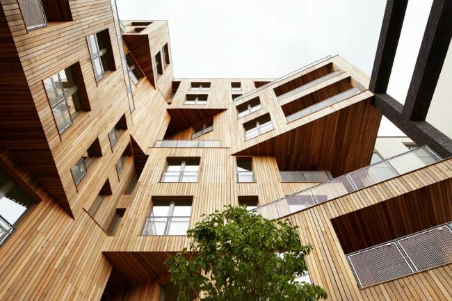 Жилой комплекс The Cube, Лондон ©  Engenuiti