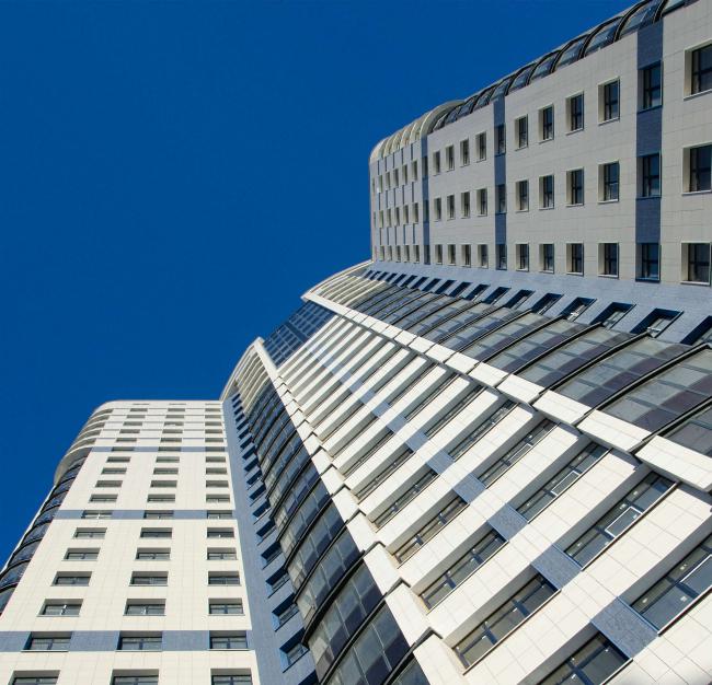 Жилой комплекс «Звёздный». Постройка, 2015 © Архитектурное Бюро Штурбабиных
