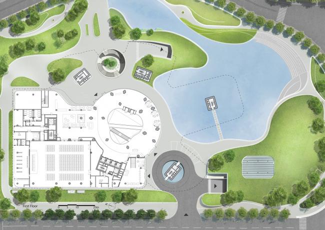 Центр дизайна для Xin Hee в Китае