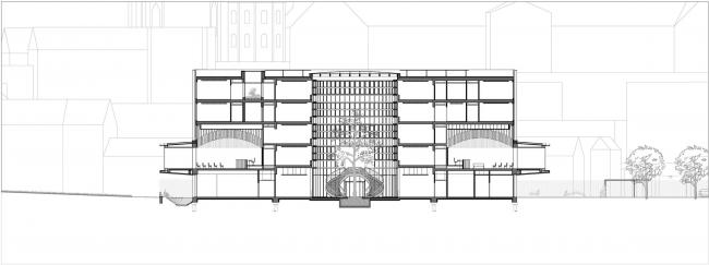 Здание суда в Кане © be baumschlager eberle