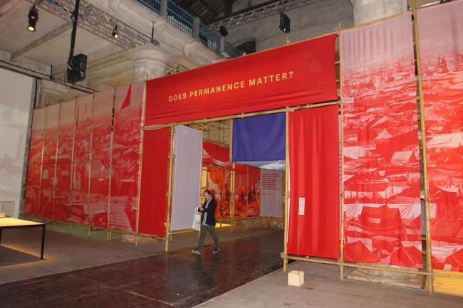 Экспозиция о Кумбха-Мела. Авторы Рахуль Мехротра и Фелипе Вера © Нина Фролова