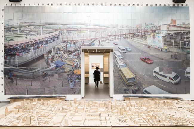 Экспозиция о реконструкции перекрестка в Дурбане © Francesco Galli