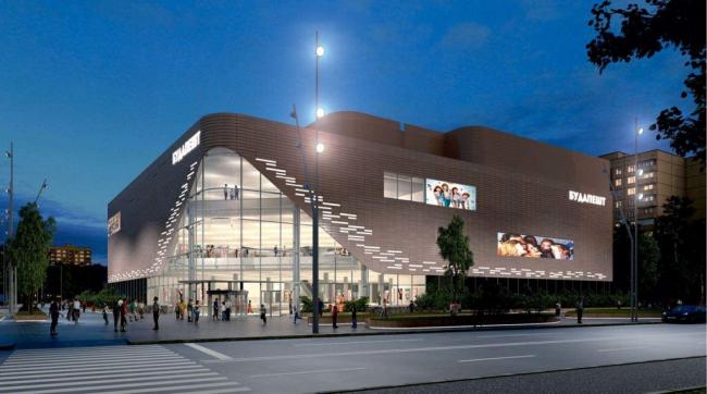 Реконструкция кинотеатра «Будапешт», проект. Изображение предоставлено Москомархитектуры