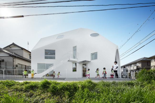 Детский сад Clover House © Fuji Koji