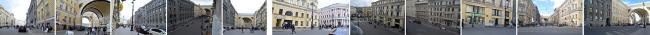 Концепция благоустройства Большой Морской улицы. Авторы: Александр Демин, Светлана Данилова, Анастасия Ладиган