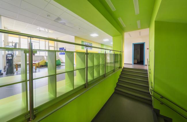 Детский сад в составе учебного комплекса на территории жилого квартала «Комфорт-таун». Постройка, 2014 © Архиматика