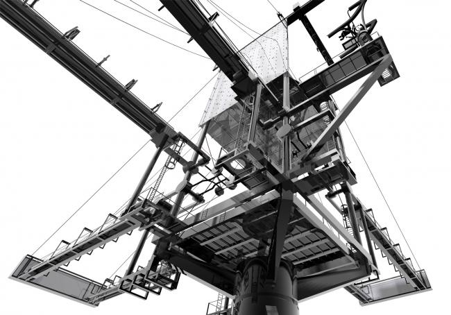 Судоразделочный завод в Сильвертауне. Джонатан Скофилд, университет Вестминстера, руководители Уильям Файербрейс и Габи Шоукрос. Победитель Архипри