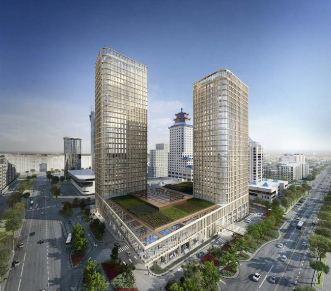 Многофункциональный комплекс Talan Towers