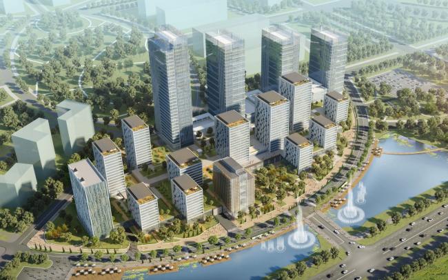 Многофункциональный жилой комплекс BI CITY. 2014-2022. Первая очередь: «Зеленый квартал»