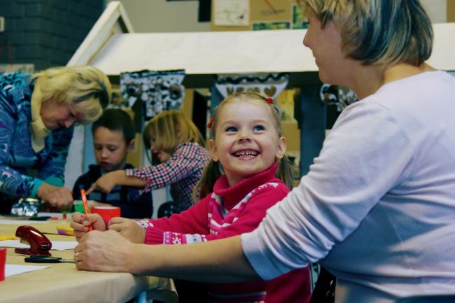 Фестиваль «Вазари» в Нижнем Новгороде. Детские мастер-классы. Фотография © Сергей Коротков