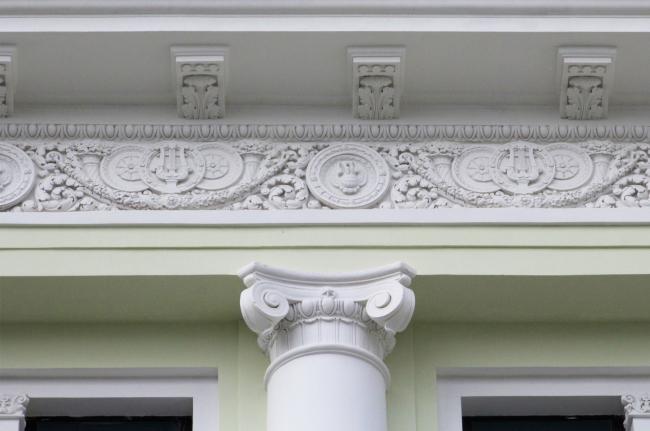 Реставрация доходного дома Тюляевой архитектора Розенкапфа. Гинзбург Архитектс. Реализация, 2016. Фотография © Юлия Тарабарина, Архи.ру