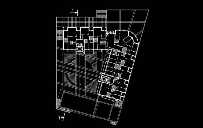 Жилой комплекс «Новая звезда». Реализация, 2005. Генеральный план © Евгений Герасимов и партнеры