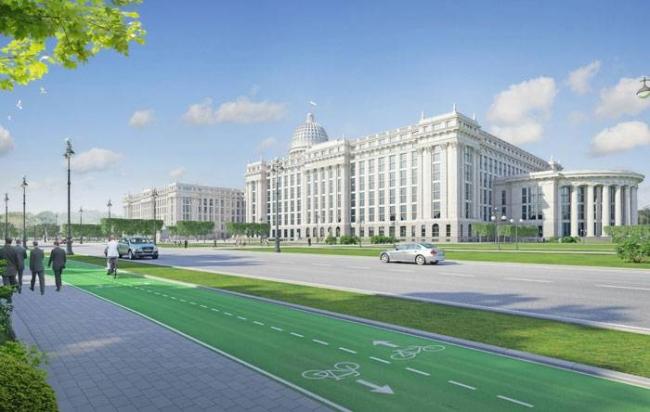 Концепция Парламентского центра РФ. Проект, 2015 © Евгений Герасимов и партнеры