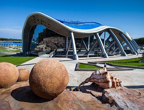 Научно-исследовательский комплекс «Приморский океанариум» (г.Владивосток, остров Русский), фото http://primocean.ru/