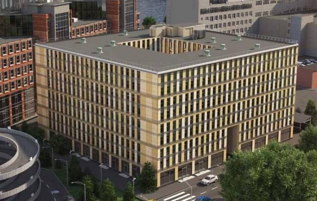 Апартамент-отель «Авеню-апарт». Проект, 2014 © Герасимов и партнеры