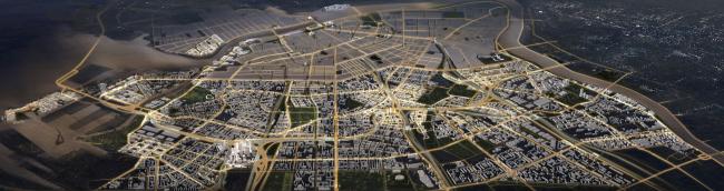 «Яузапроект», Москва. Концепция развития «Серого пояса» © Яузапроект