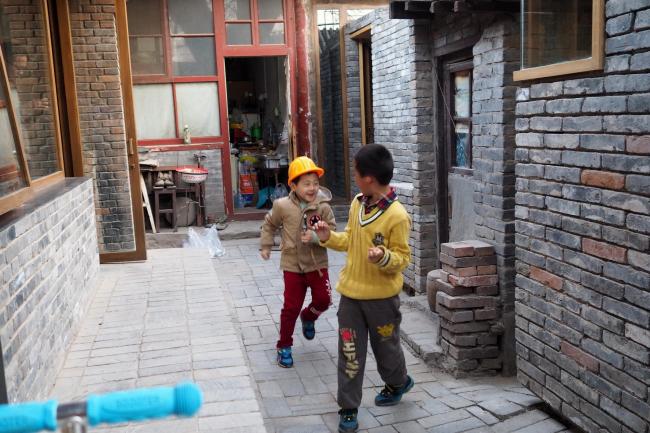Детская библиотека и центр искусств хутуна Ча'эр. Фото: AKTC / Zhang MingMing, ZAO, standardarchitecture