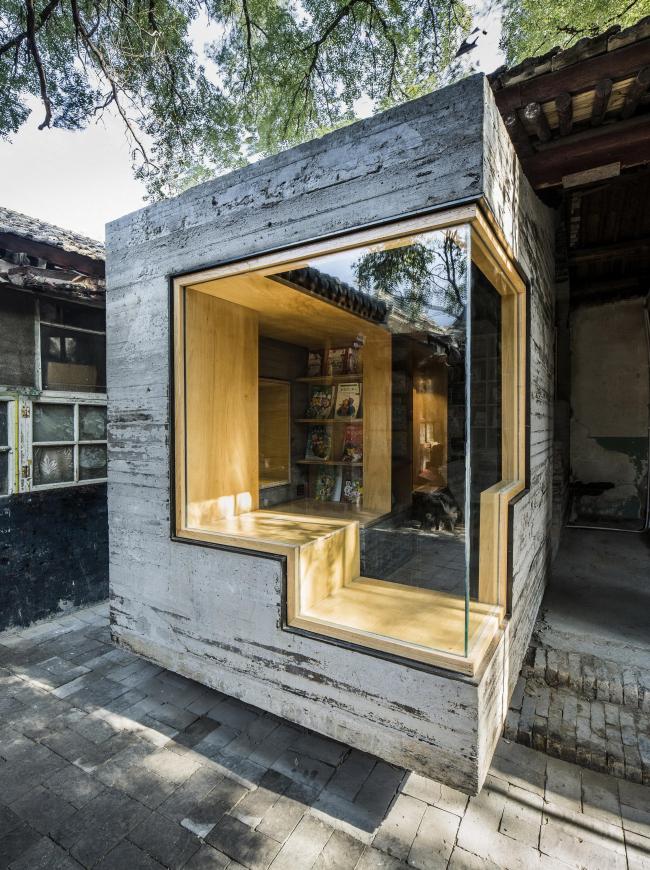 Детская библиотека и центр искусств хутуна Ча'эр. Фото: AKTC / Wang Ziling, ZAO, standardarchitecture
