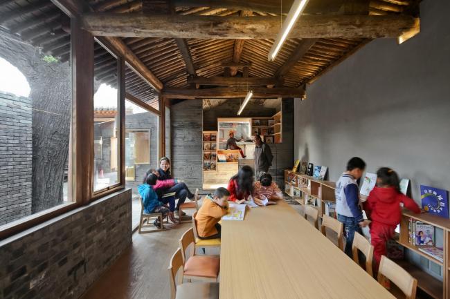 Детская библиотека и центр искусств хутуна Ча'эр. Фото: AKTC / Su Shengliang, ZAO, standardarchitecture