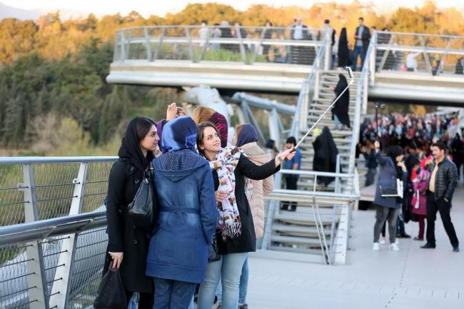 Пешеходный мост Табиат. Фото: Aga Khan Trust for Culture / Barzin Baharlouie