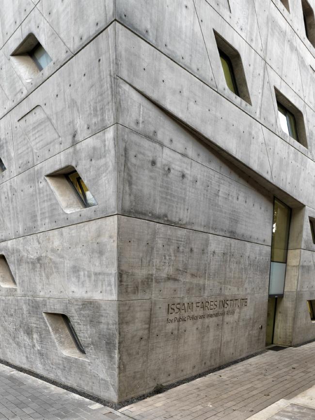 Институт Иссама Фареса. Фото: Aga Khan Trust for Culture / Cemal Emden
