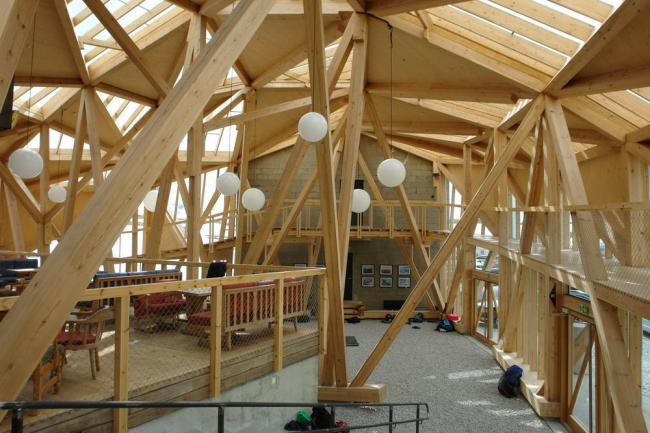 Лыжная база Согнефьелльхютта. Архитекторы Jensen & Skodvin © Нина Фролова